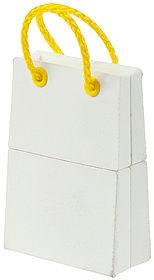USB-флеш карта Пакет, белый, 4 Гб