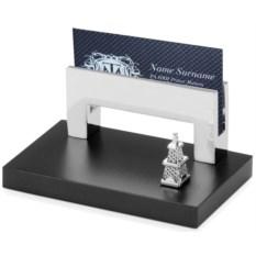 Модель нефтяной вышки на подставке под визитки
