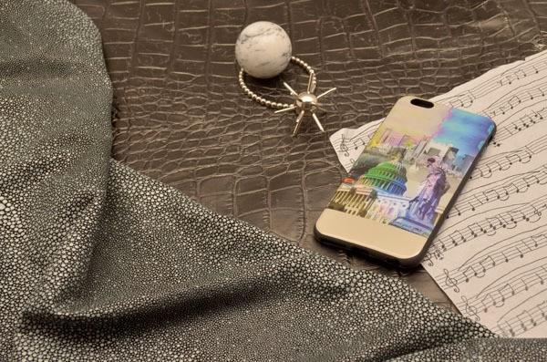 Чехол для iPhone 6 Plus силиконовый TPU (черный, Нью-Йорк)