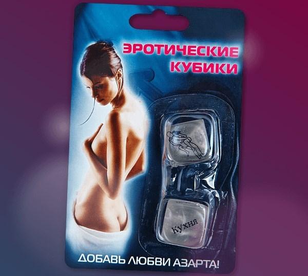 Эротические игральные кости