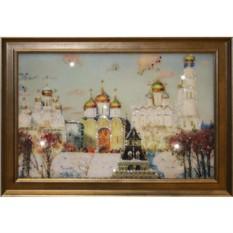 Картина с кристаллами Swarovski Золотые купола
