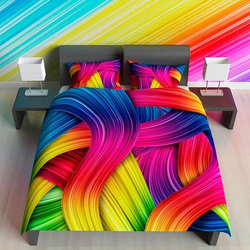 Постельное белье Цветные сны (1,5-спальное)