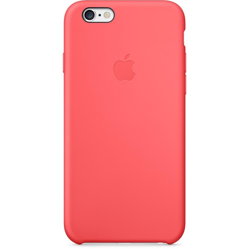 Розовый силиконовый чехол для Apple iPhone 6
