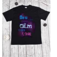 Мужская футболка с вашим текстом Be calm make love