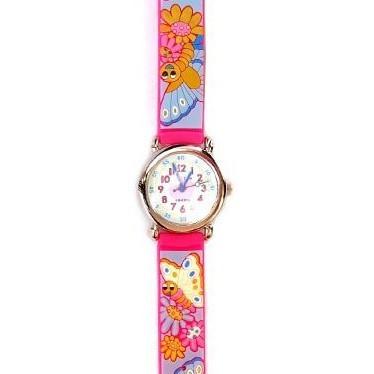 Часы «Розовые бабочки» Tik-Tak
