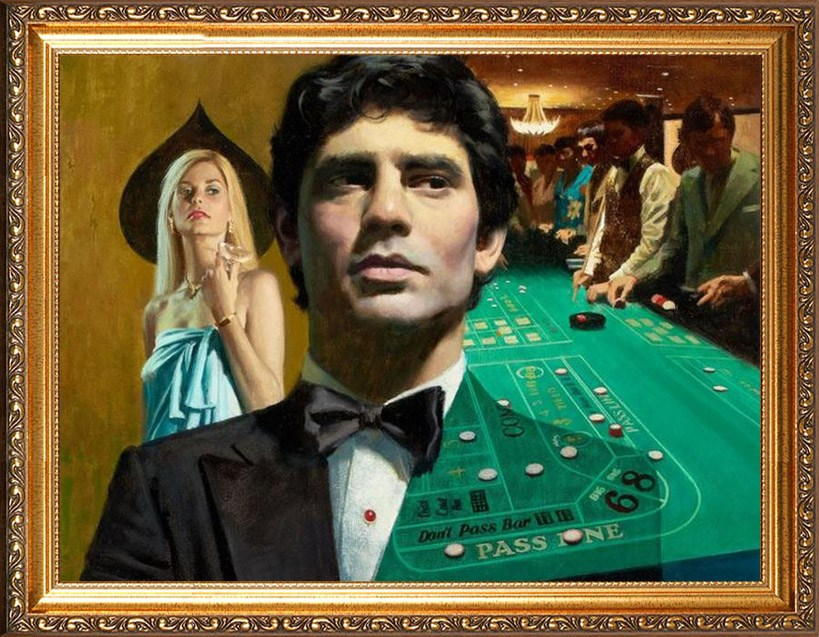 Портрет покерному ассу
