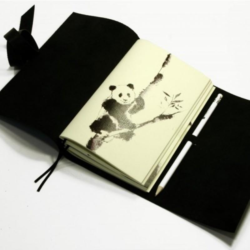 СофтБук BlankNote Черная Панда