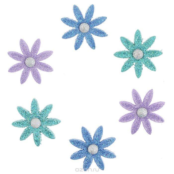 Пуговицы декоративные Dress It Up В полном цвете, 6 шт.