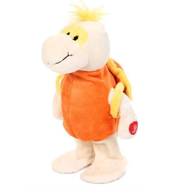 Интерактивная игрушка Оранжевая черепашка