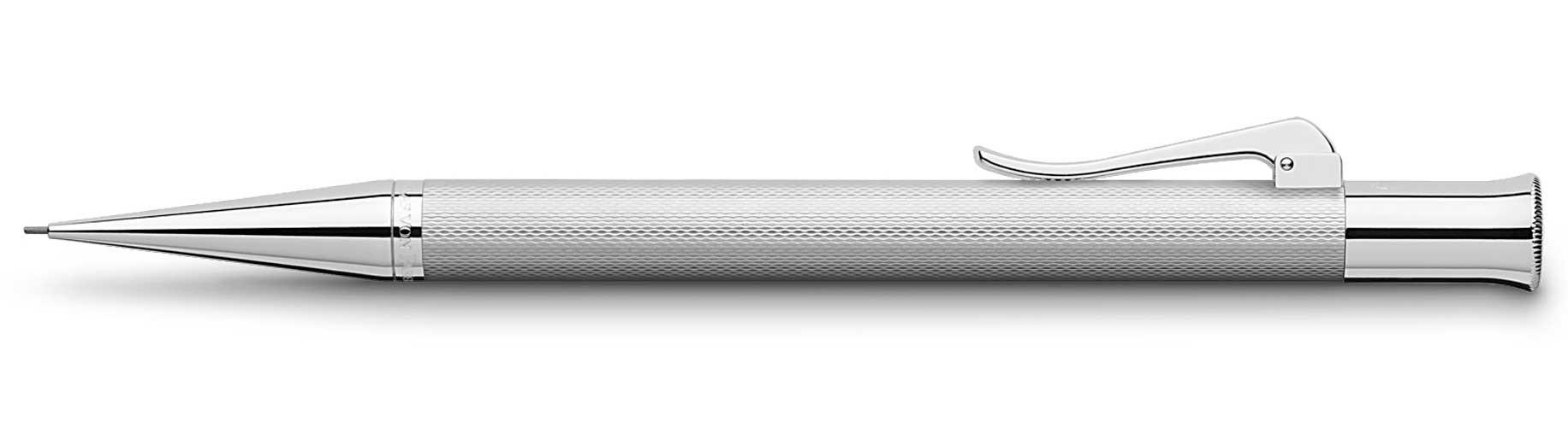Механический карандаш Graf Faber-Castell Guilloche Rhodium