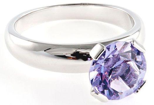Кольцо с кристаллом Swarovski Бриллиант