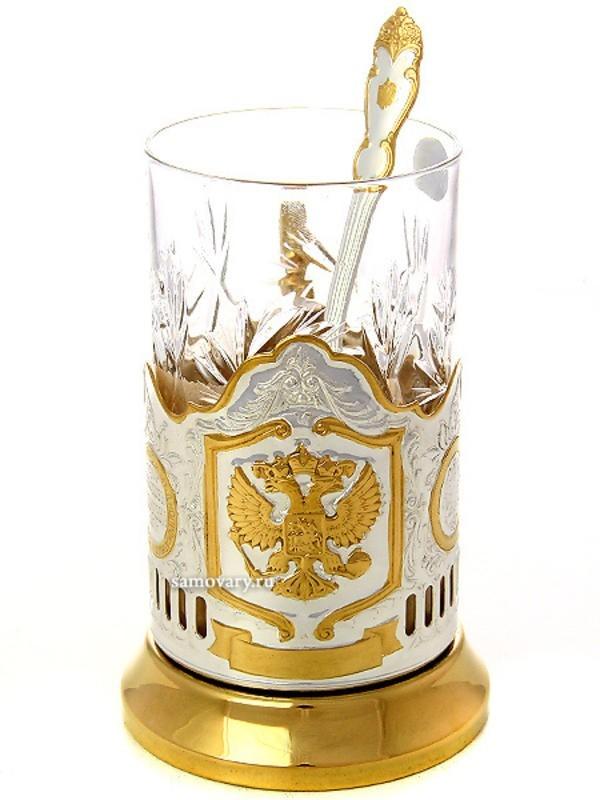 Набор для чая Русский мельхиор (Кольчугино)
