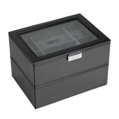 Черная шкатулка для хранения 16 часов LC Designs