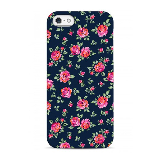 Чехол Pink Flowers для телефона iPhone 5,5S