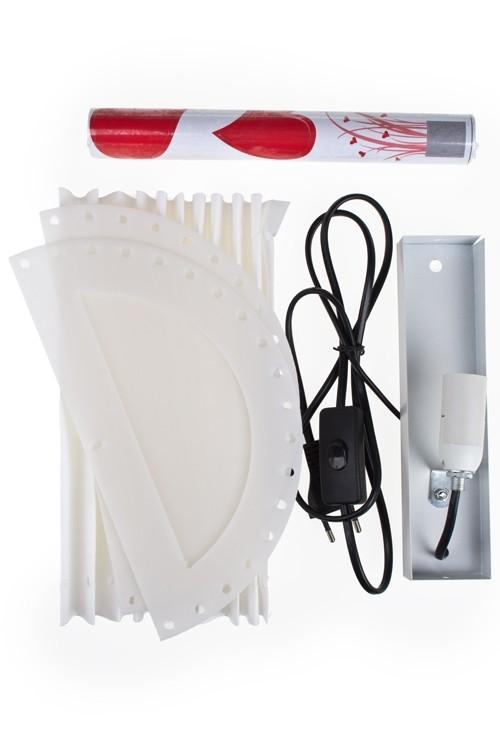 Настенный электрический светильник Букет из сердец