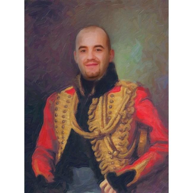 Портрет в историческом образе