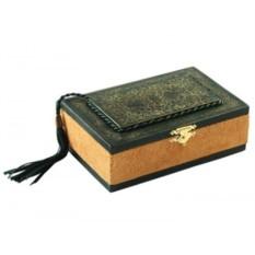 Кожаная ювелирная шкатулка «Восточная сказка»