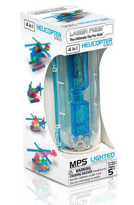 Конструктор Вертолеты (4 модели)