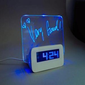 USB-Часы с хабом Доска для записей