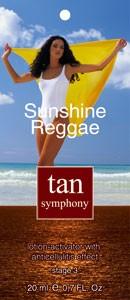 Эмульсия-активатор загара с антицеллюлитным эффектом Sunshine Reggae 3-я фаза