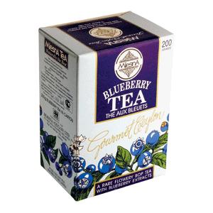 Чай черный с ароматом голубики