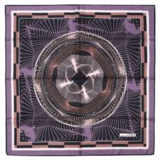 Женский платок с геометрическим рисунком Gianfranco Ferre
