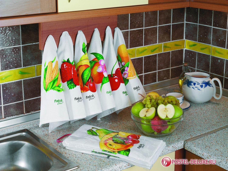 Кухонный набор из 6 салфеток Luz