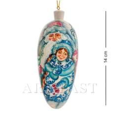 Елочная игрушка Шишка (художественная роспись)
