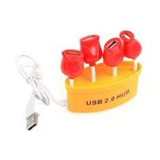 USB-Хаб на 4 порта  Букет роз