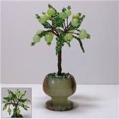 Миниатюрное дерево счастья из оникса