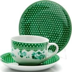 Зеленый чайный набор из 12 предметов Lorain