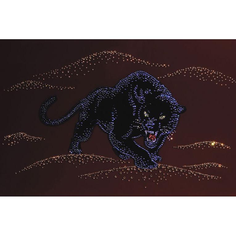 Картина Swarovski «Пантера»