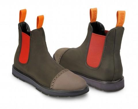 Ботинки Swims John, коричневые
