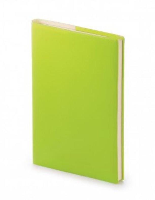 Зеленый недатированный ежедневник Glossy Pro А5