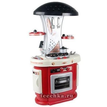 Кухня с посудомоечной машиной и утюгом
