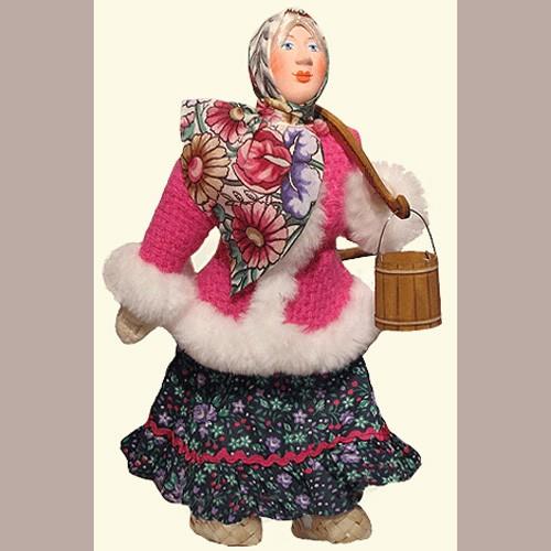 Кукла «Девушка с коромыслом»