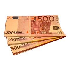 Забавная Пачка денег 500 евро
