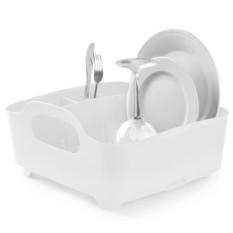 Белая сушилка для посуды Tub