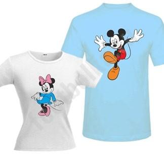 Парные футболки Микки маус/ Минни маус