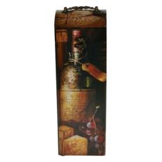 Шкатулка Сундучок под бутылку