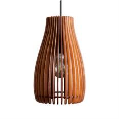 Деревянный подвесной светильник Лампа Ива