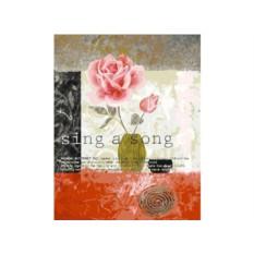 Картины по номерам «Открытка с розой»