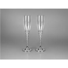 Подарочный набор бокалов для шампанского Королевский прием