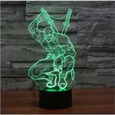 3D лампа Дэдпул