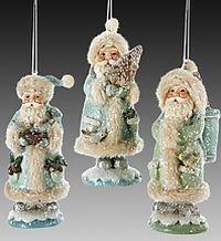 Елочное украшение Заснеженный Дед Мороз