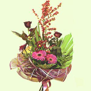 Букет цветов «Сапфир»