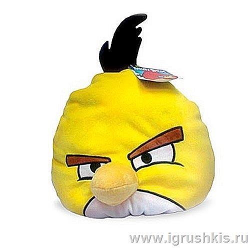 Подушка Angry Birds Желтая птица (Yellow bird)