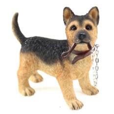 Статуэтка собаки Немецкая овчарка на прогулке