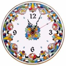 Оригинальные настенные часы (керамика)