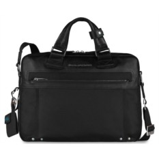 Черная сумка для ноутбука Piquadro Link
